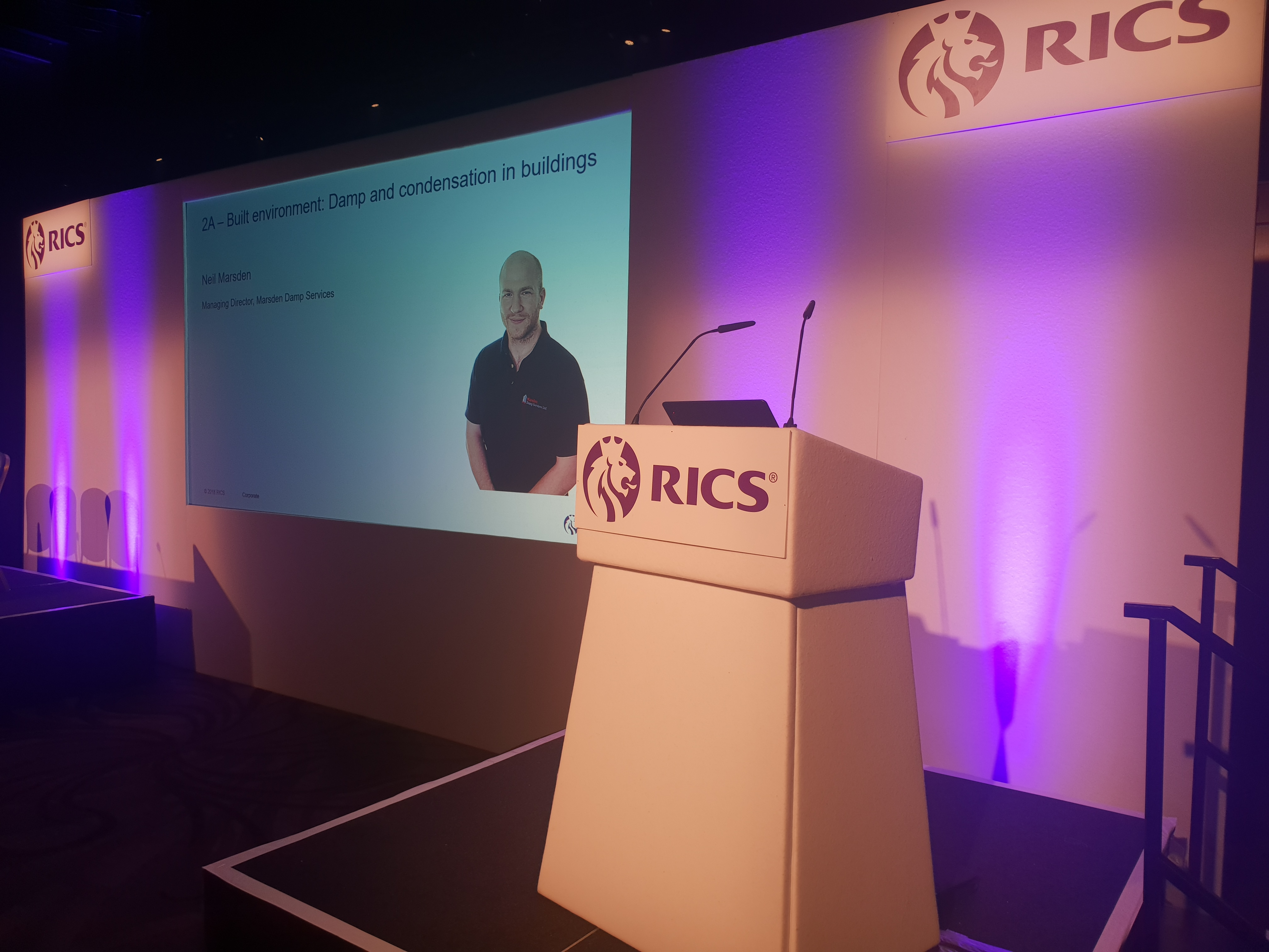 Marsden's at the RICS Seminar 2019, Hilton Hotel Gateshead/Newcastle